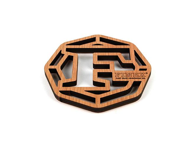 "Finex 8"" Wood Trivet"