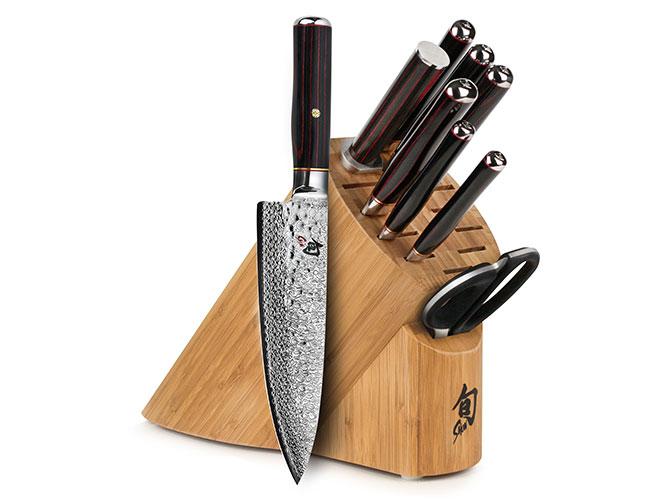 Shun Hiro SG2 10 Piece Knife Block Set