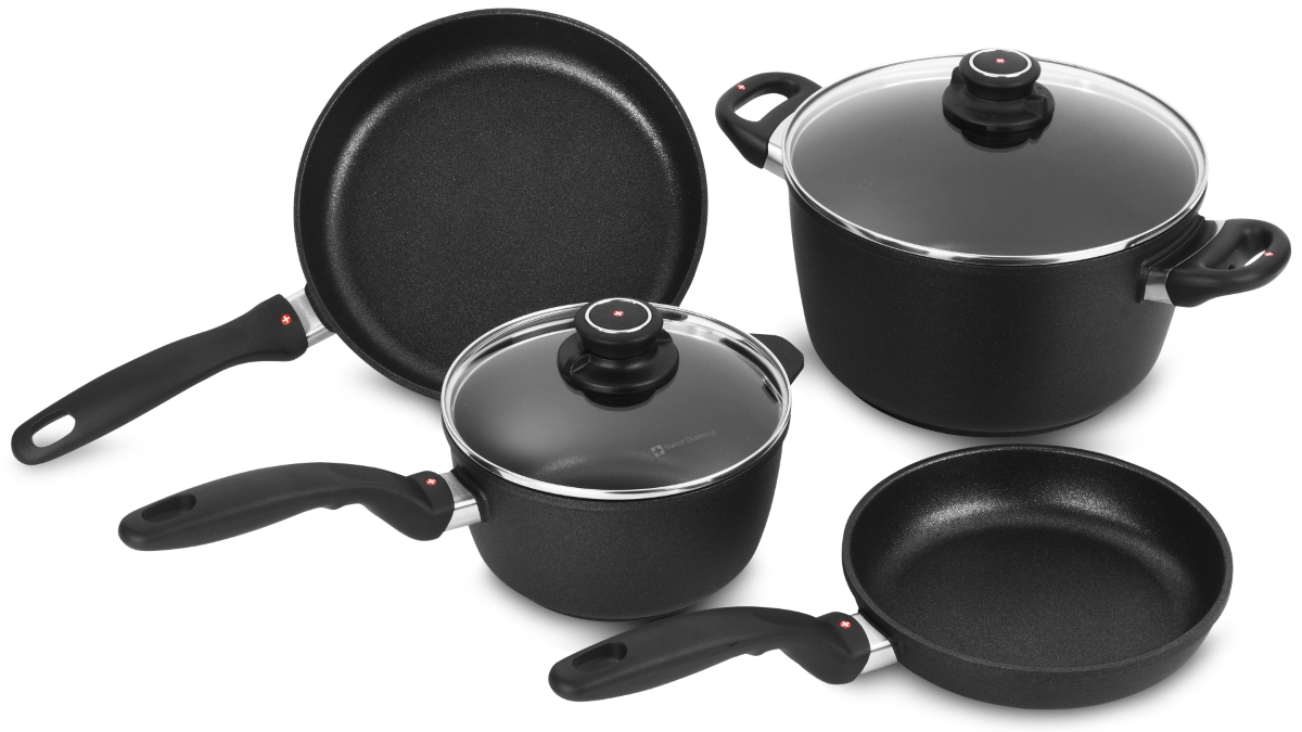 Swiss Diamond XD 6 Piece Nonstick Induction Cookware Set