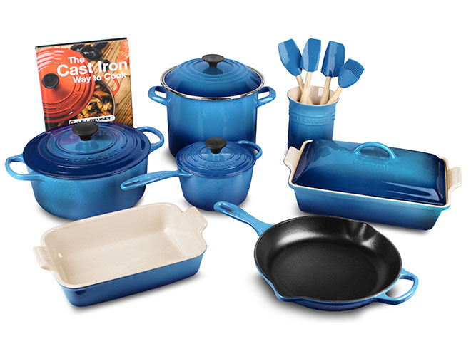 Le Creuset Signature Cast Iron 16-piece Cookware Set