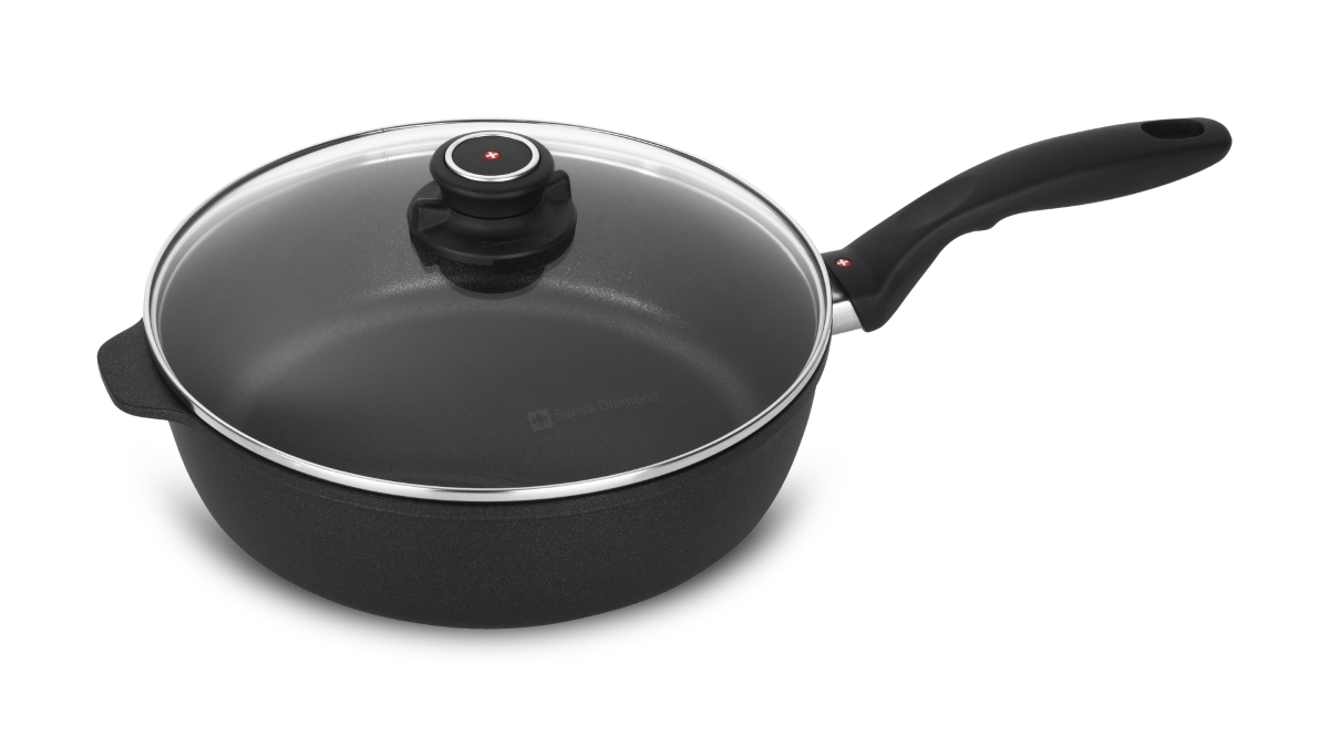 Swiss Diamond XD Nonstick Saute Pans with Lid