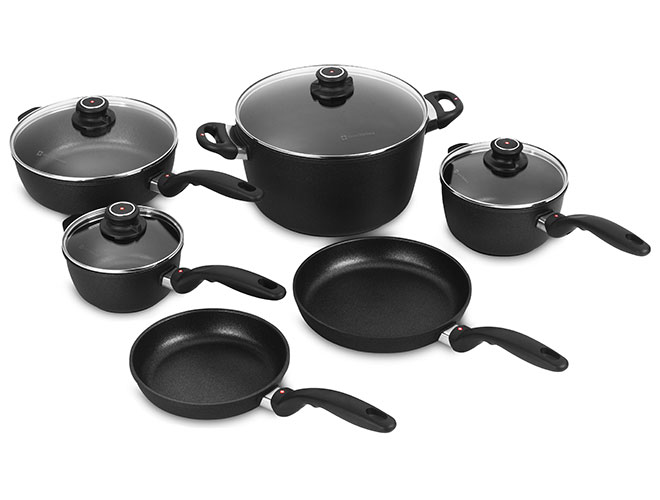 Swiss Diamond XD 10 Piece Nonstick Cookware Set