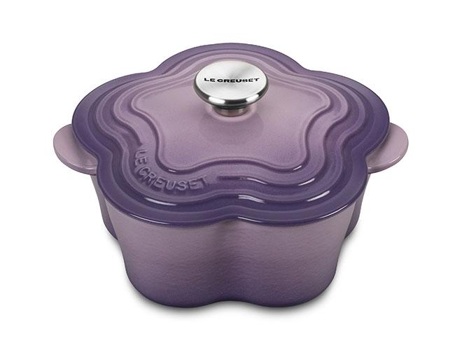 Le Creuset Cast Iron 2.25-quart Provence Flower Cocotte