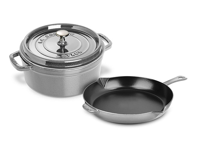 Staub 4-quart Dutch Oven & 10-inch Skillet Set