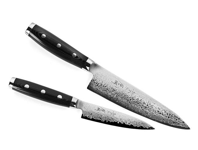 Yaxell Gou 2 Piece Chef's & Utility Knife Set