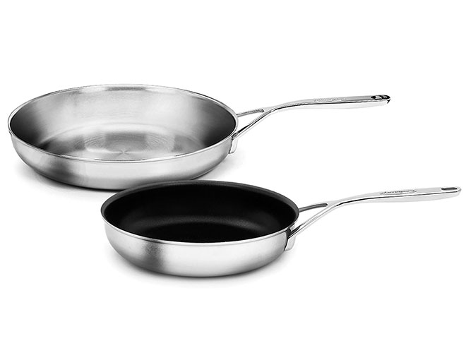 Demeyere 5-Plus 8-inch Nonstick & 11-inch Stainless Steel Skillet Set