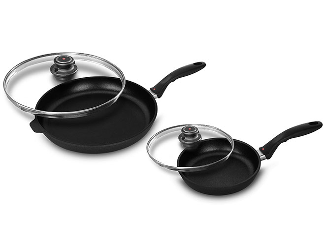 Swiss Diamond XD 8 & 12.5-inch Nonstick Skillet Set with Lids