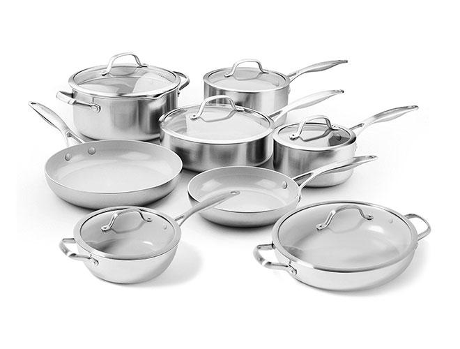GreenPan Venice Pro 14 Piece Nonstick Cookware Set