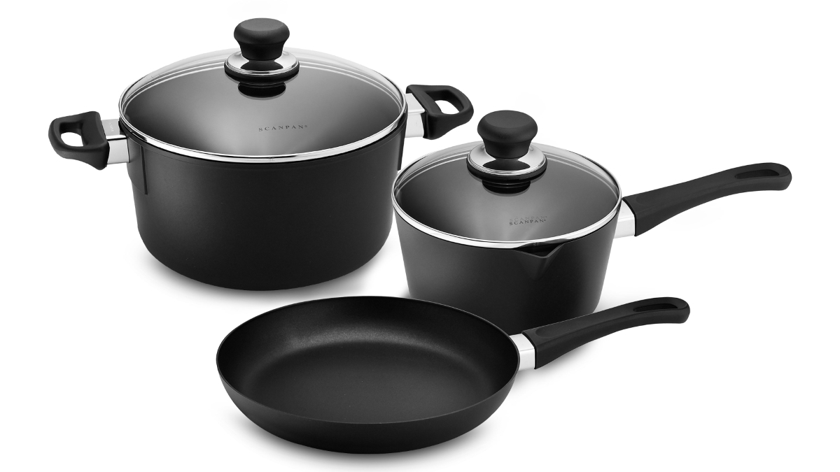 Scanpan Classic Stratanium 5 Piece Nonstick Cookware Set