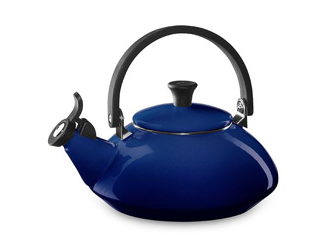 Le Creuset Enameled Steel 1.6-quart Indigo Zen Tea Kettle