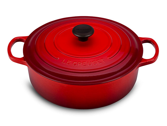 Le Creuset Signature Cast Iron 6.75-quart Round Wide Dutch Ovens
