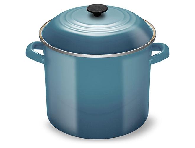 Le Creuset Enameled Steel 16-quart Marine Stock Pot