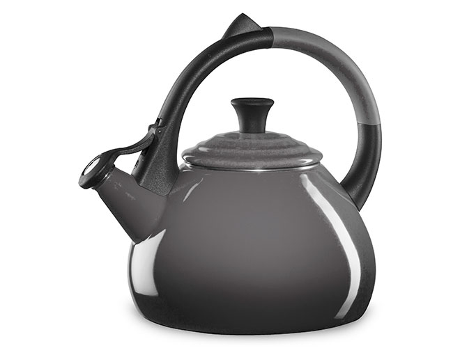 Le Creuset Enameled Steel 1.6-quart Oyster Oolong Tea Kettle