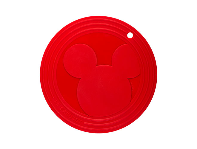 "Le Creuset 8"" Mickey Mouse Silicone Trivet"