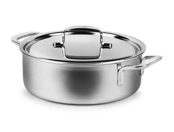 Demeyere 5-Plus 4-quart Stainless Steel Saute Casserole