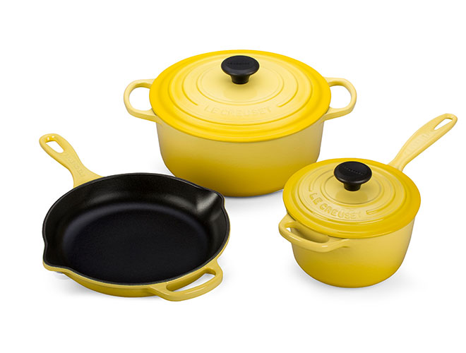 Le Creuset Signature Cast Iron Soleil 5-piece Cookware Set