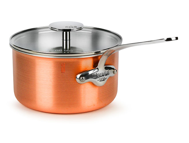 Mauviel M'3s Tri-Ply Copper 2.6-quart Saucepan