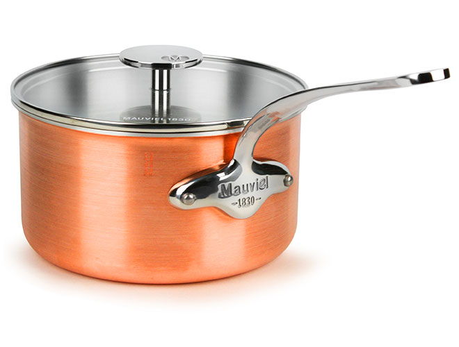 Mauviel M'3s Tri-Ply Copper Saucepans