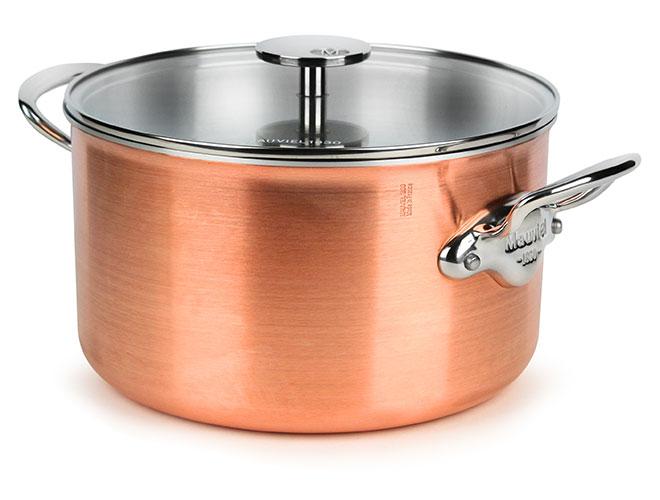 Mauviel M'3s Tri-Ply Copper 5.9-quart Stock Pot