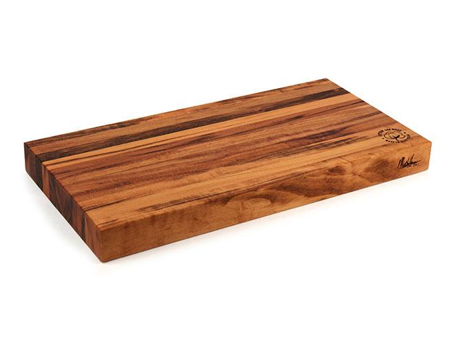"Cotton and Dust 20x11x1.5"" The Matthew Tigerwood Cutting Board"