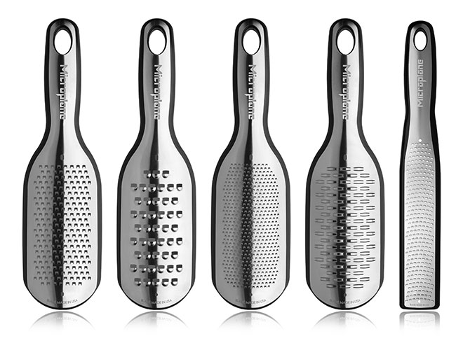 Microplane Elite 5 Piece Grater Set