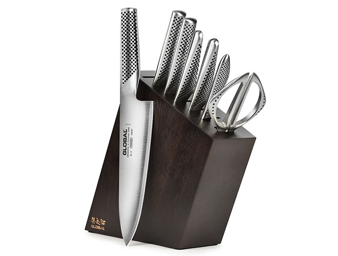 Global 8-piece Knife Block Set