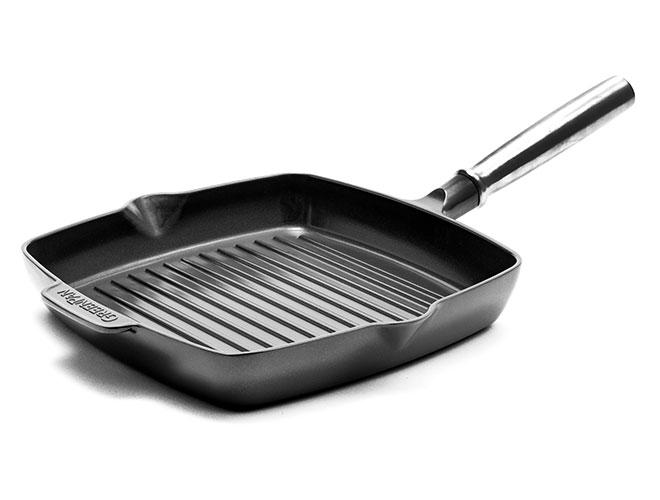 "GreenPan SimmerLite 10"" Nonstick Square Grill Pan"