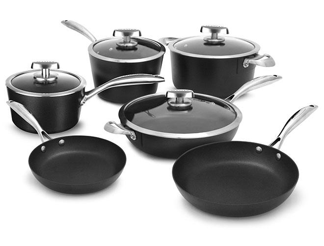 Scanpan Pro IQ Stratanium 10 Piece Nonstick Cookware Set