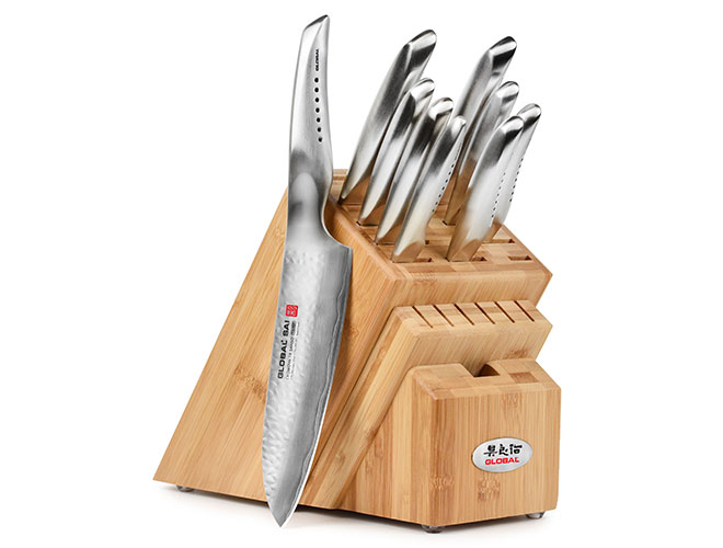 Global Sai 10 Piece Knife Block Set