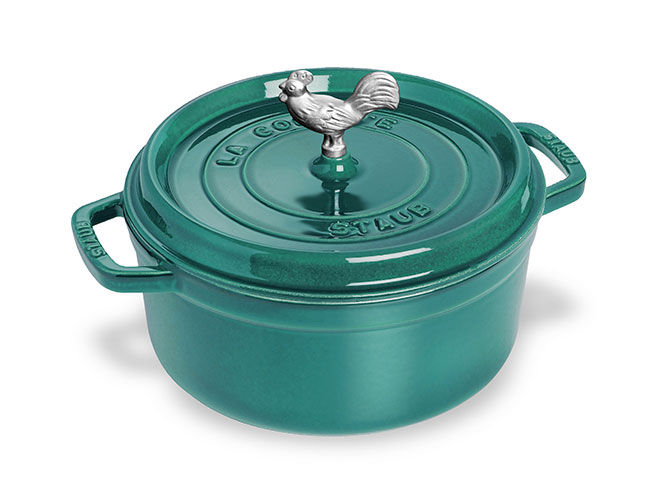 Staub Cast Iron 4-quart Dutch Ovens with Specialty Knob