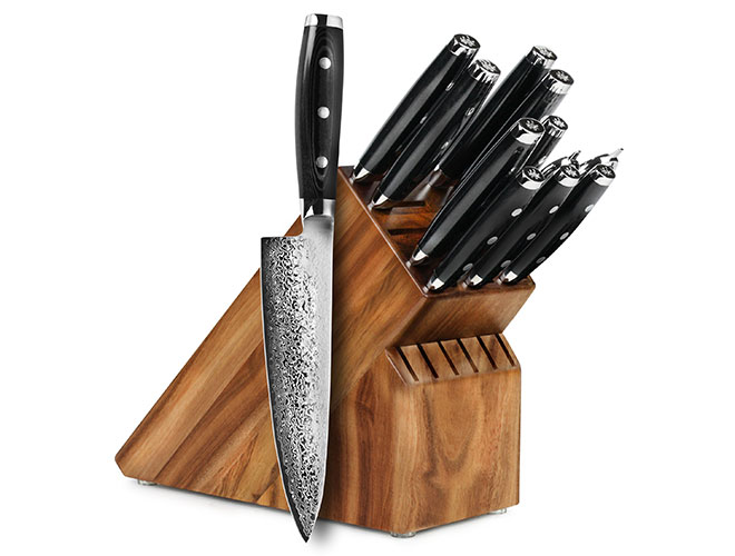 Yaxell Gou 12 Piece Knife Block Set