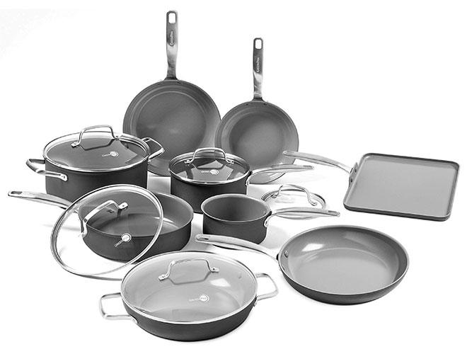 GreenPan Chatham 14 Piece Nonstick Cookware Set