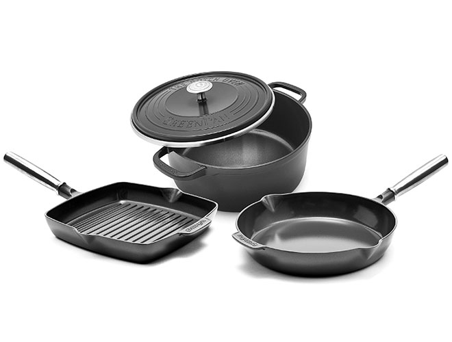 GreenPan SimmerLite 4 Piece Nonstick Cookware Set