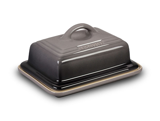 Le Creuset Stoneware Oyster Heritage Butter Dish