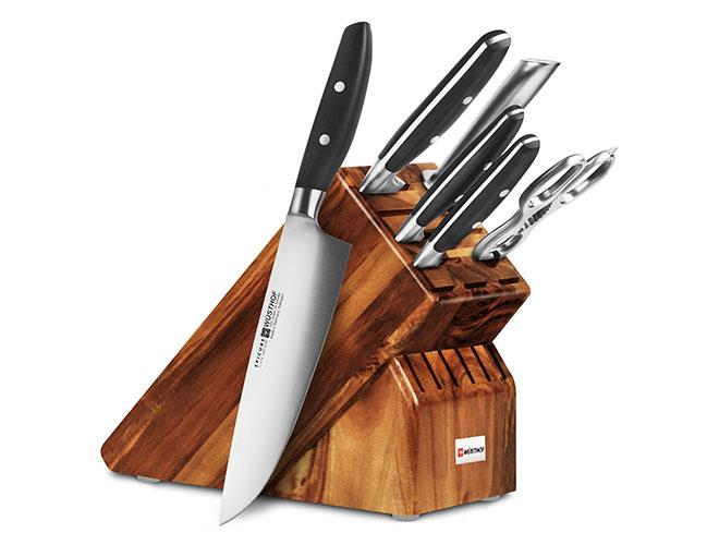 Wusthof Epicure Slate 7 Piece Knife Block Sets