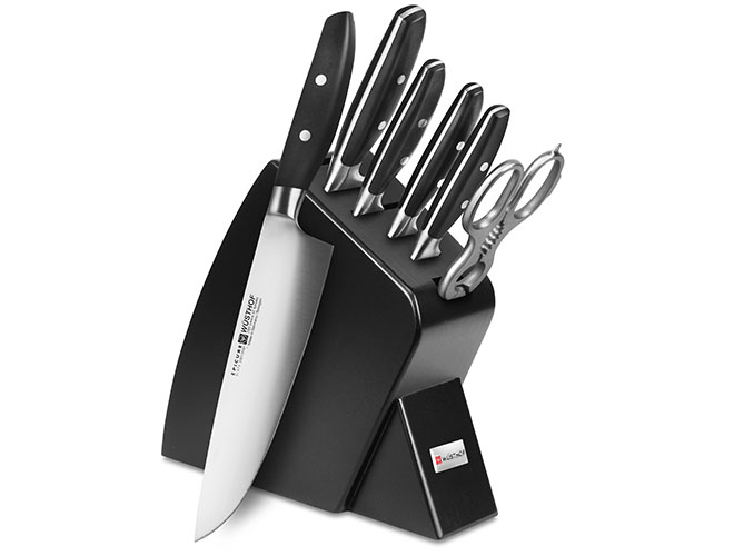 Wusthof Epicure Slate 7 Piece Slim Knife Block Sets