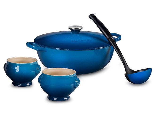 Le Creuset 4.25-quart Marseille Soup Pot Set