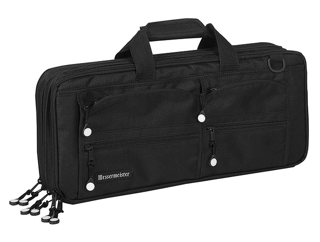 Messermeister 18 Pocket Black Chef's Case