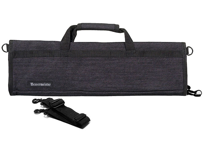 Messermeister 8 Pocket Dark Denim Padded Knife Roll