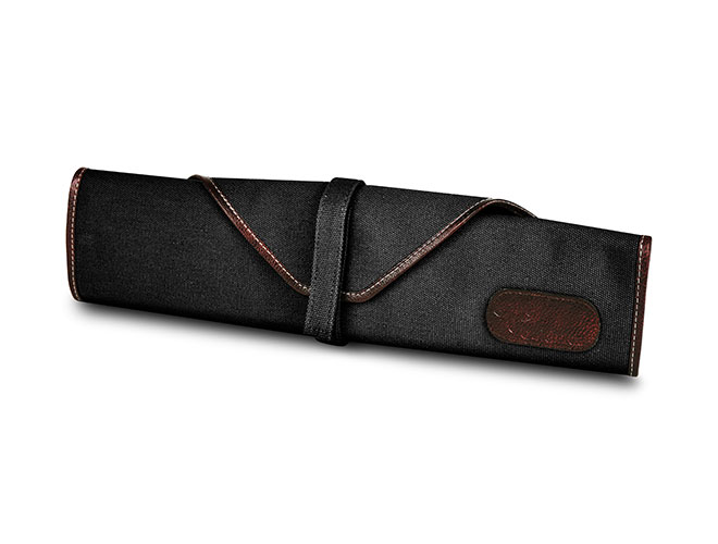 Boldric 6 Pocket Black Small Canvas Knife Roll