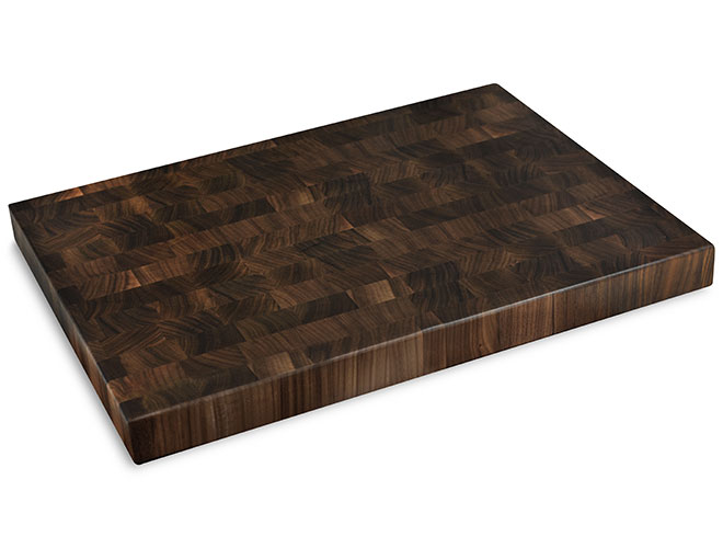 "Cutlery and More 24x18x2"" Walnut End Grain Cutting Board"