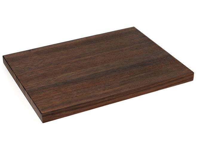 "Cutlery and More 24x18x1.5"" Walnut Long Grain Cutting Board"