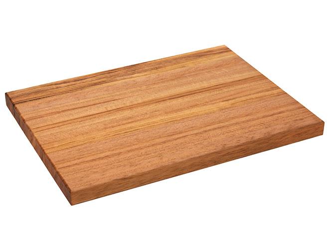 "Cutlery and More 24x18x1.5"" Tigerwood Long Grain Cutting Board"