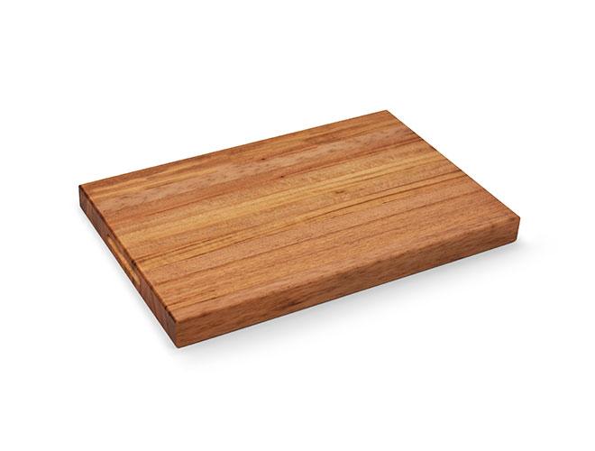 "Cutlery and More 18x12x1.5"" Tigerwood Long Grain Cutting Board"