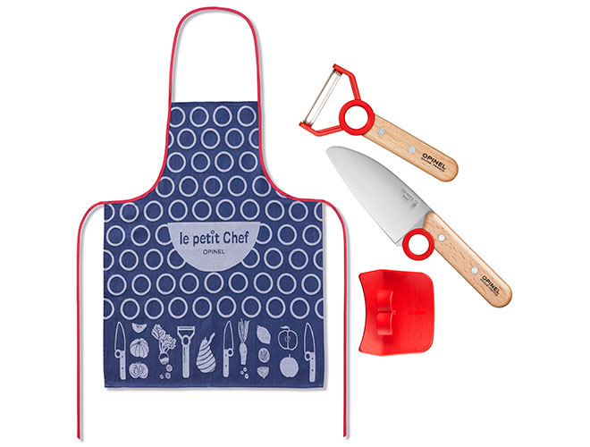 Opinel 4 Piece Le Petit Chef Children's Cooking Set