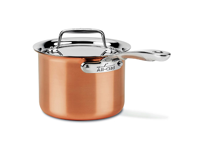 All-Clad c4 Copper 2-quart Saucepan