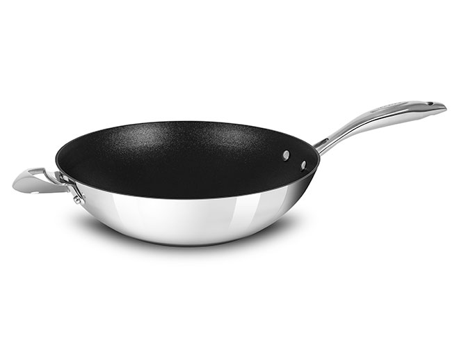 Scanpan HaptIQ 12.5-quart Stainless Steel Nonstick Wok