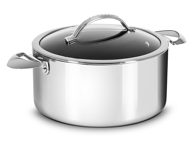 Scanpan HaptIQ 7.5-quart Stainless Steel Nonstick Dutch Oven
