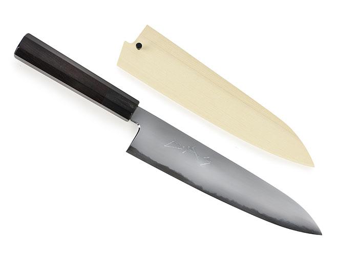 Jikko White No. 2 Carbon Steel with Ebony Handle
