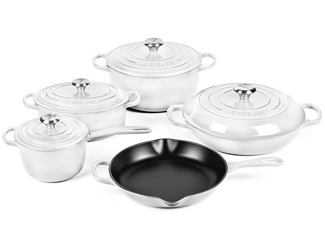 Le Creuset Signature Cast Iron 9 Piece Cookware Set